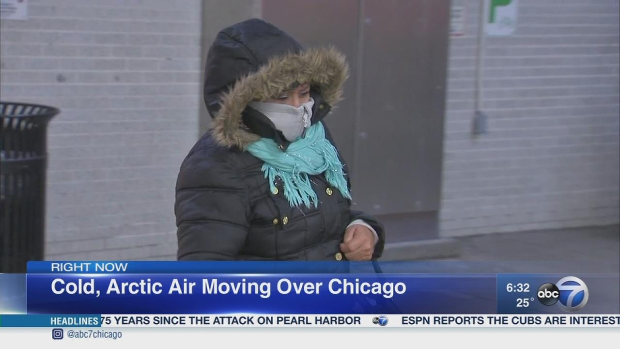 Winter blast hits Chicago