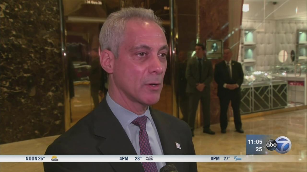 Emanuel meets with Trump in NYC