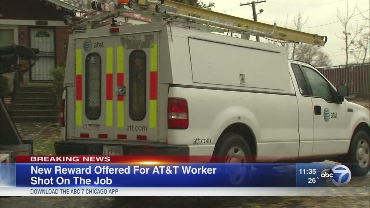 Reward offered in utility worker shooting
