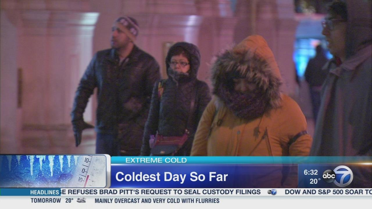 Dress in layers to combat wind chills