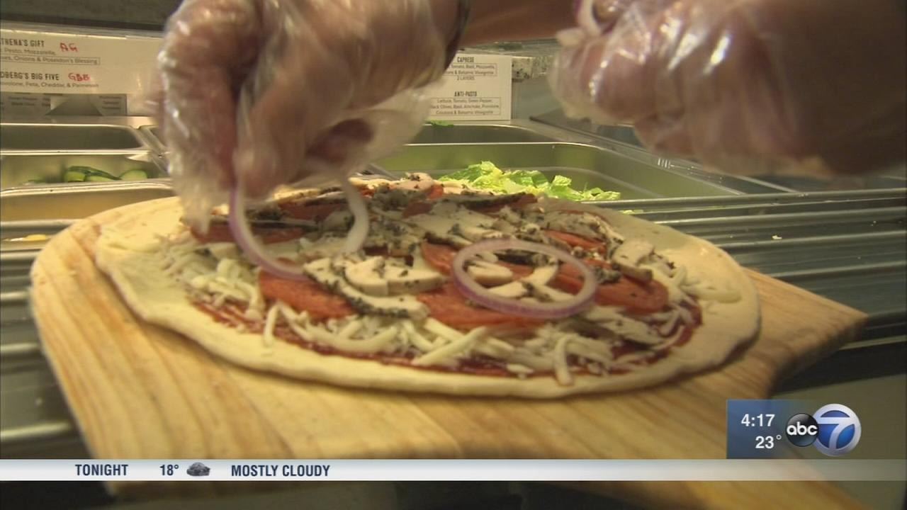 Olive Theory Pizzeria gives back