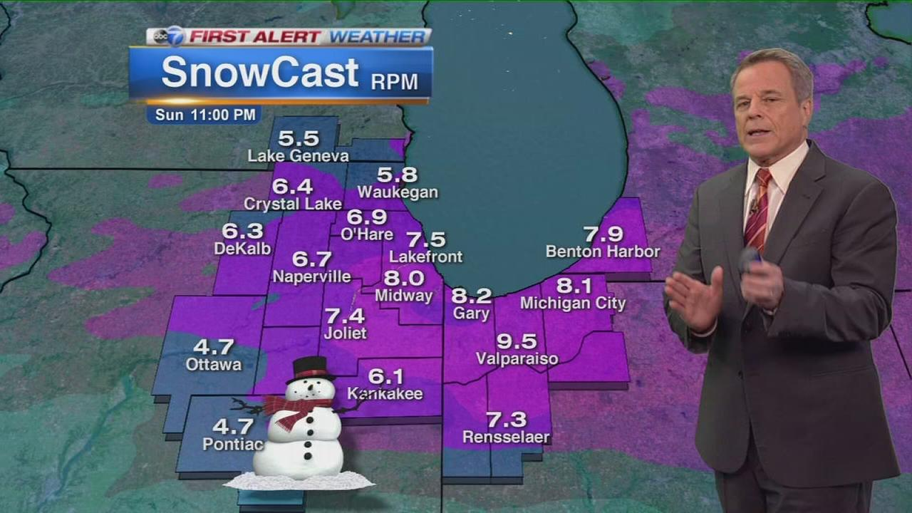 ABC7 meteorologist Phil Schwarzs 6 p.m. winter storm update