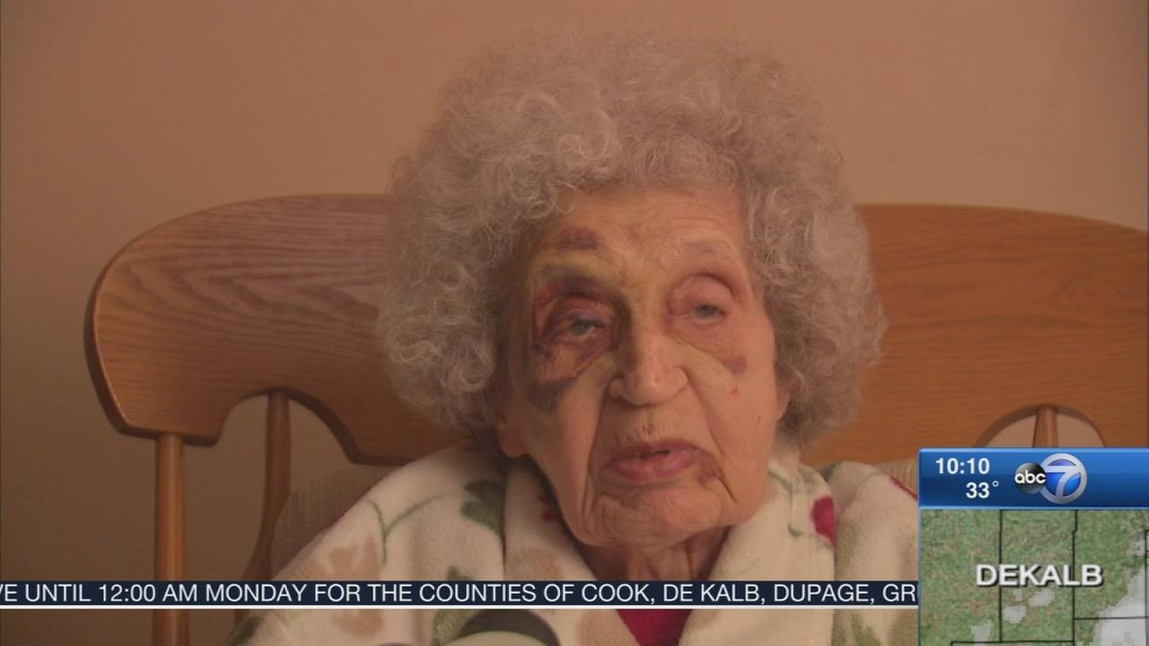94-year-old WWII recovering after attack