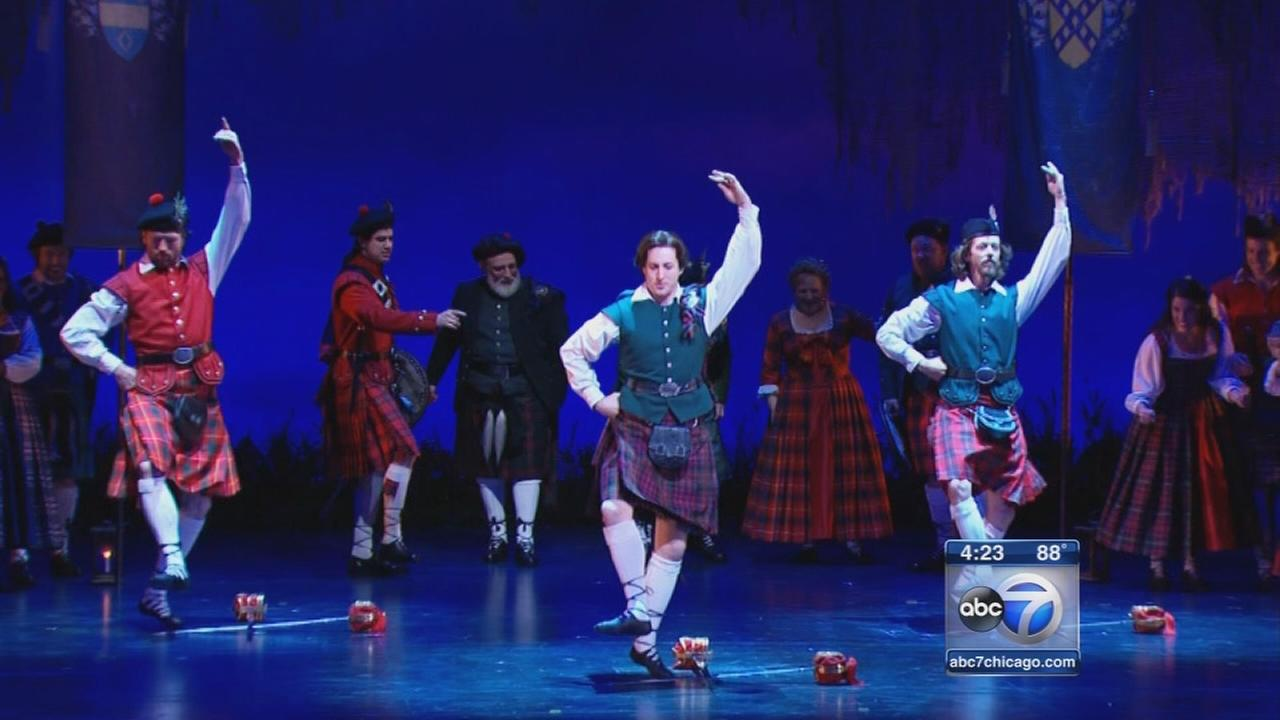 Brigadoon opens at Goodman Theatre