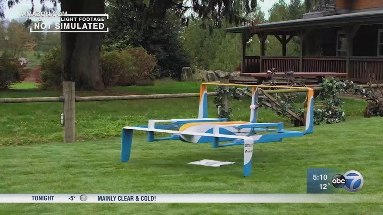 Amazon makes its first drone delivery