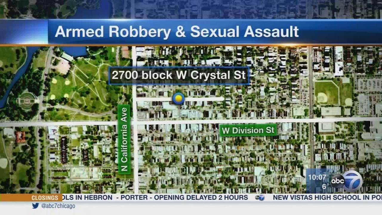 Armed robbers sexually assault woman in West Town