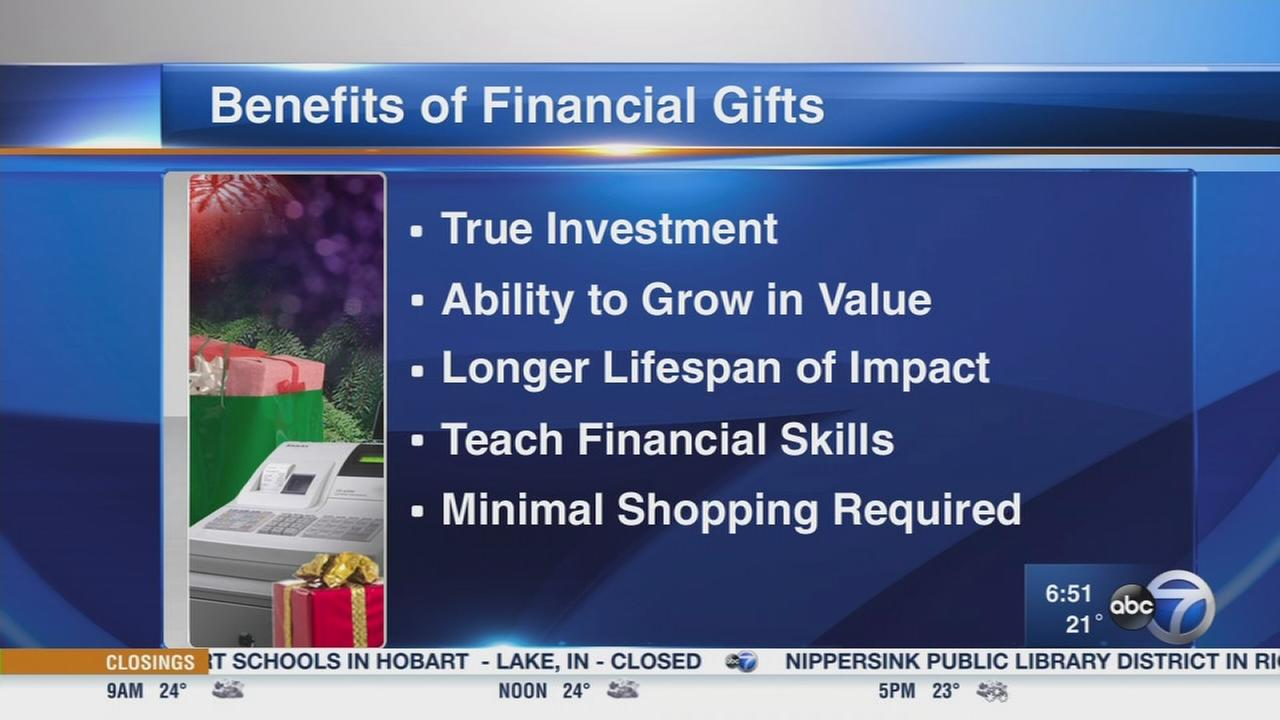 Giving financial gifts for the holidays