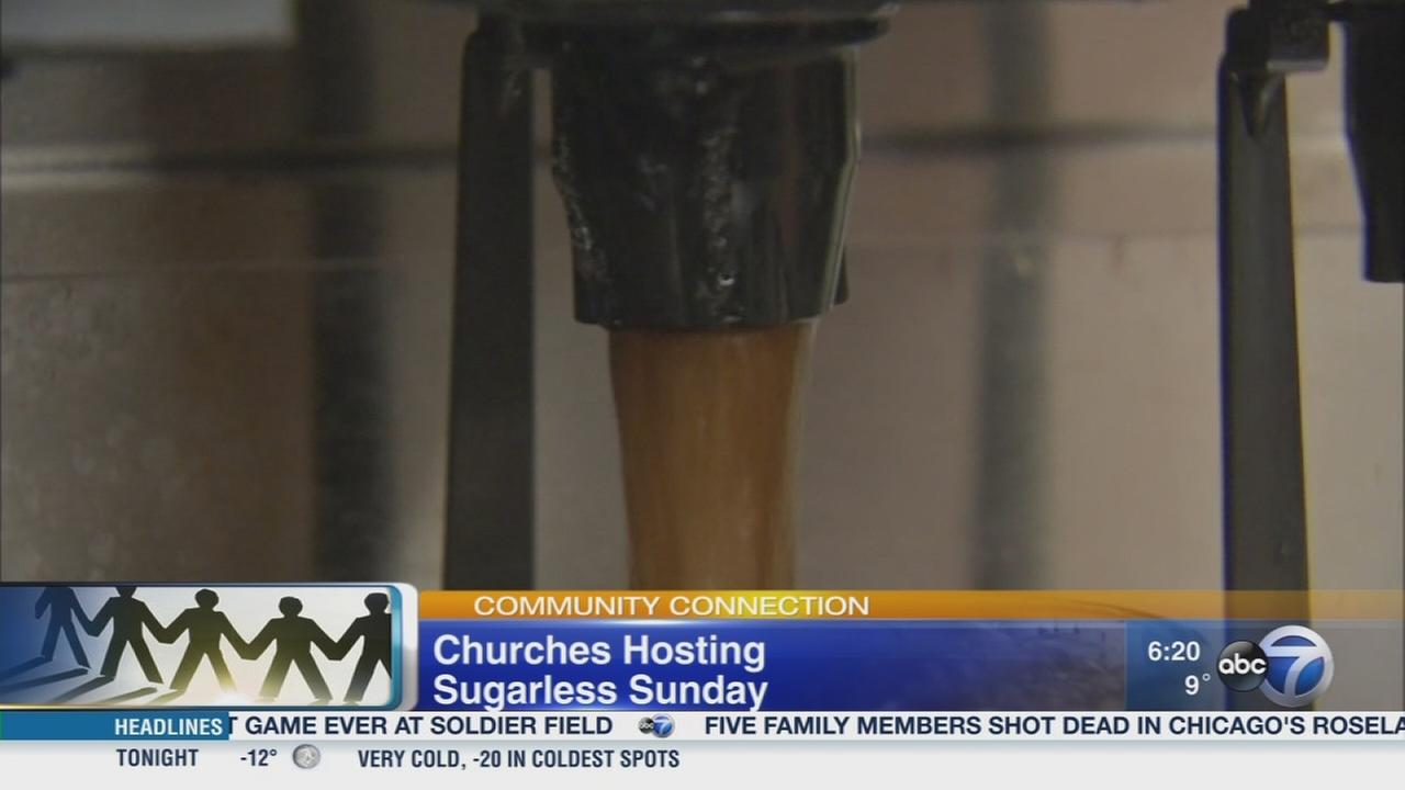 Churches go sugarless on Sunday
