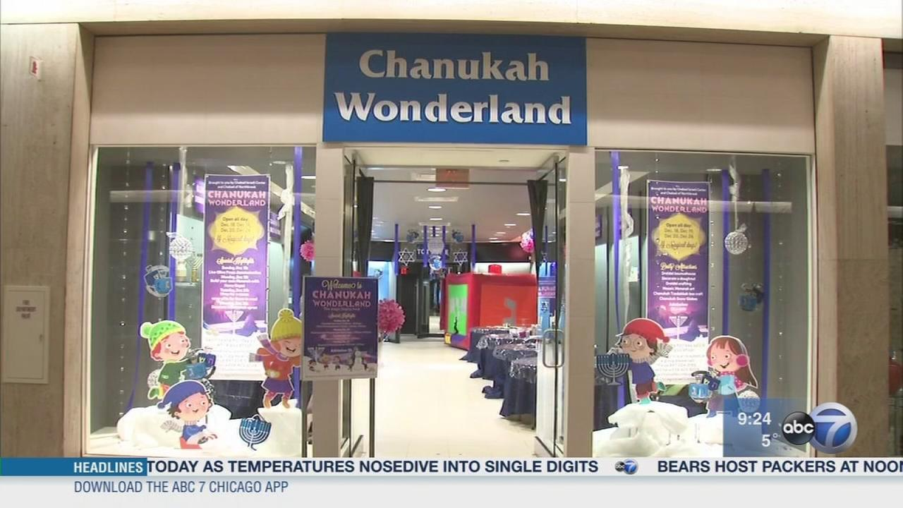 First ever Chanukah Wonderland at Northbrook Court
