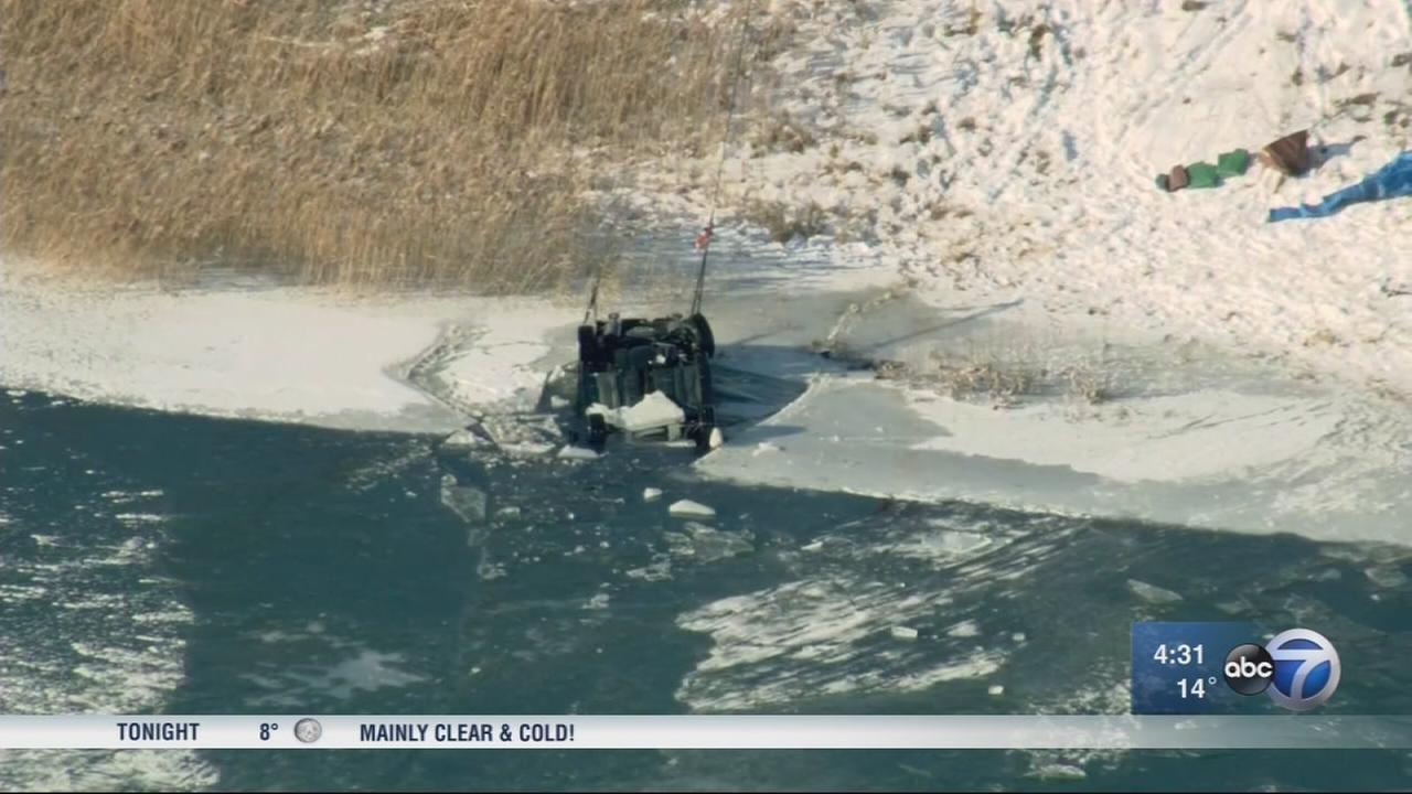 Vehicle, body recovered from Lynwood pond