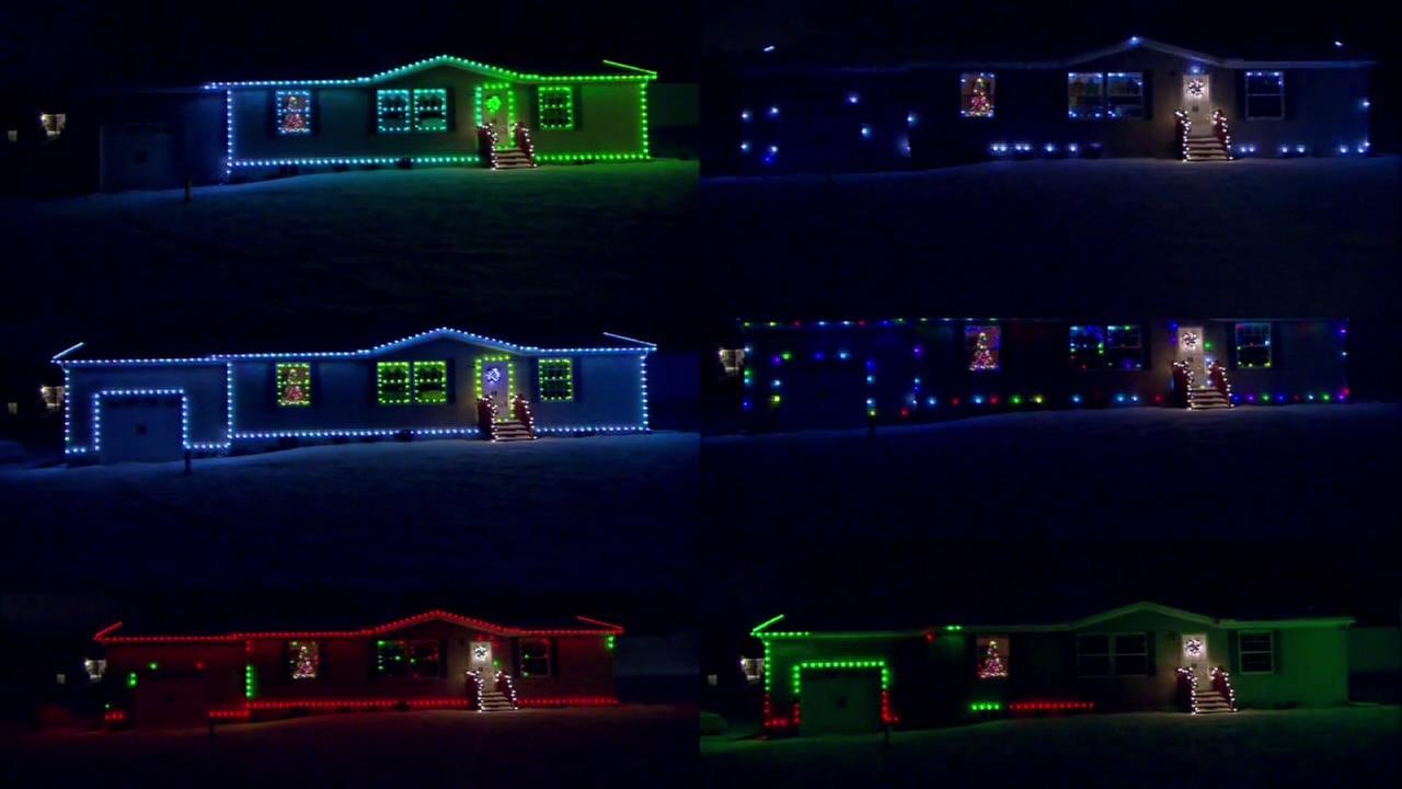 Ohio man lets internet control his Christmas lights
