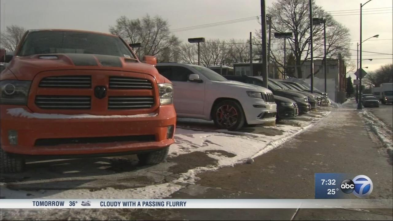 Thieves target Portage Park car dealerships