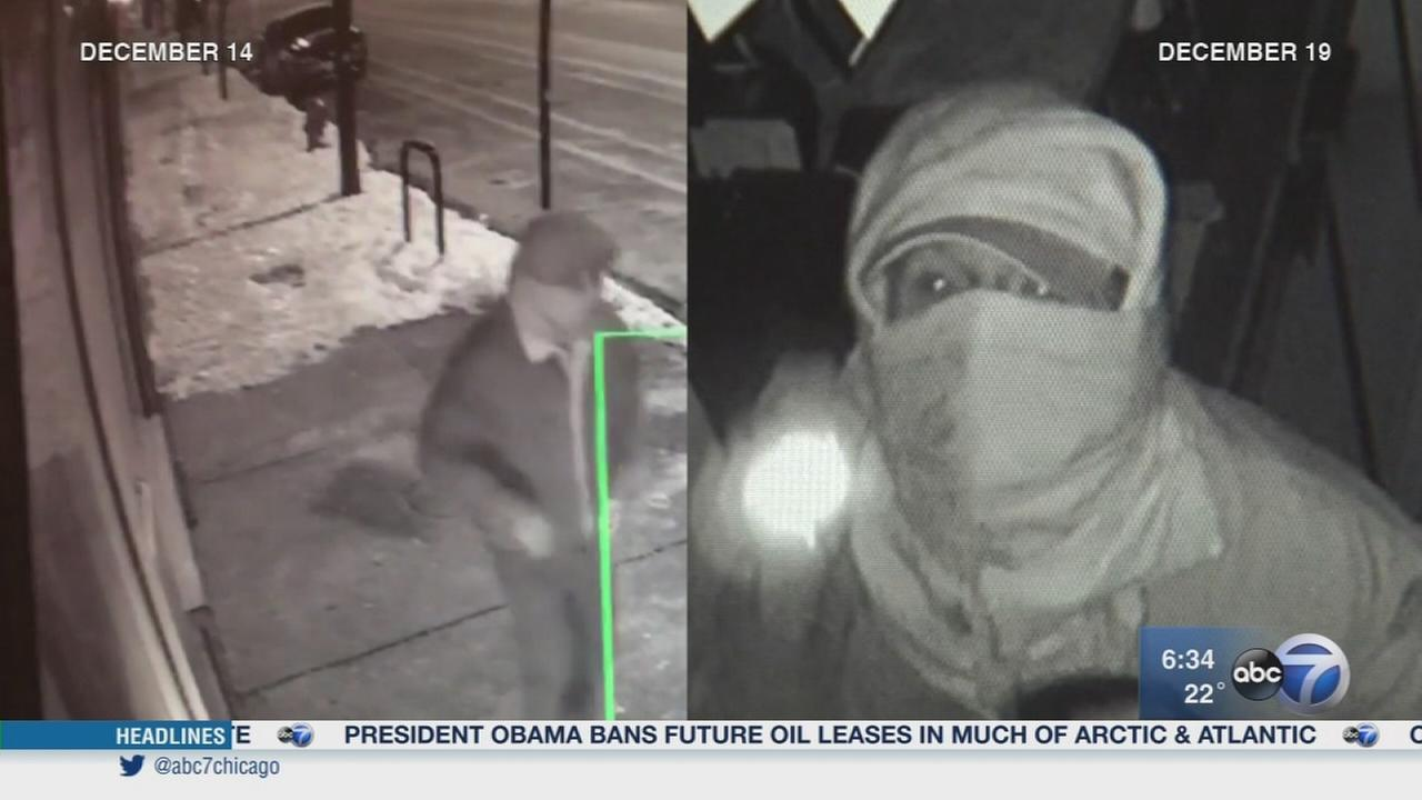 Burglar hits 4 businesses in 1 night