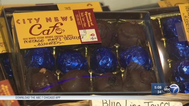 Blue Line truffles support police