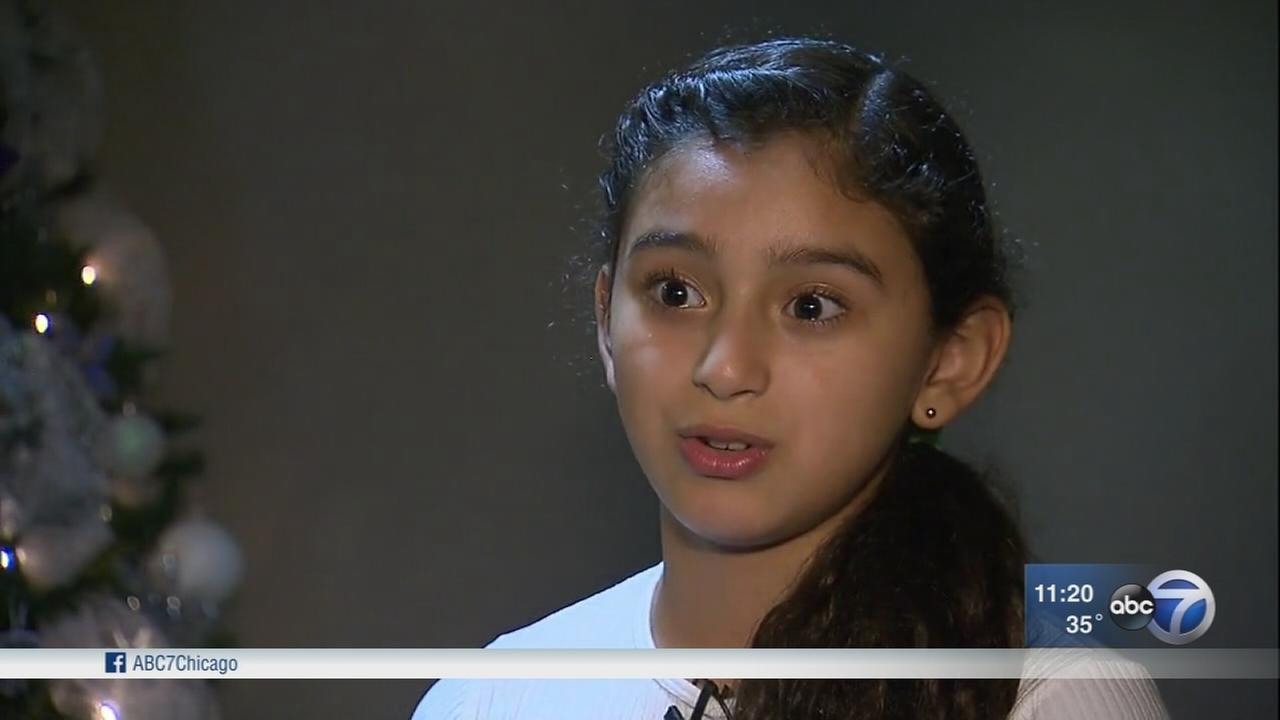 Brave girl calls 911 while hiding in closet