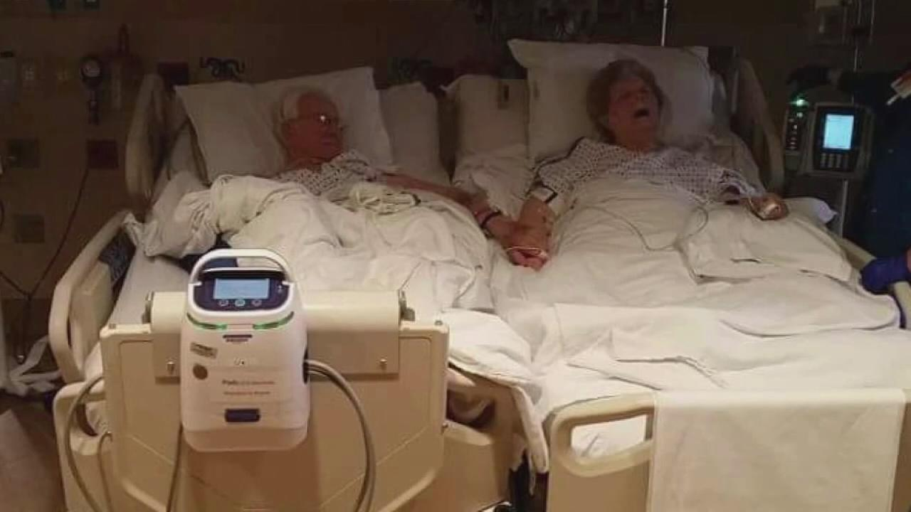 Couple married 63 years dies hour apart