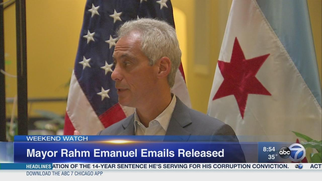 Weekend Watch: BGA forces release of Emanuels private emails