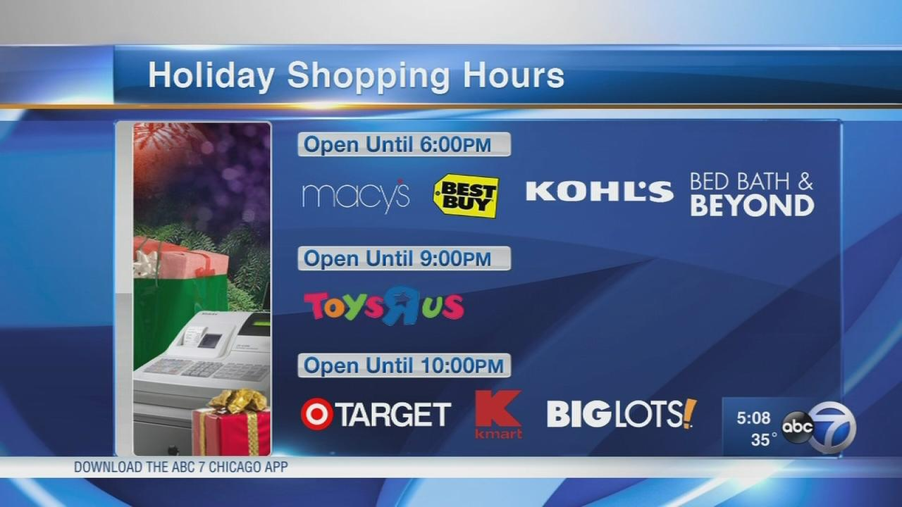 Last-minute shoppers scramble Christmas Eve