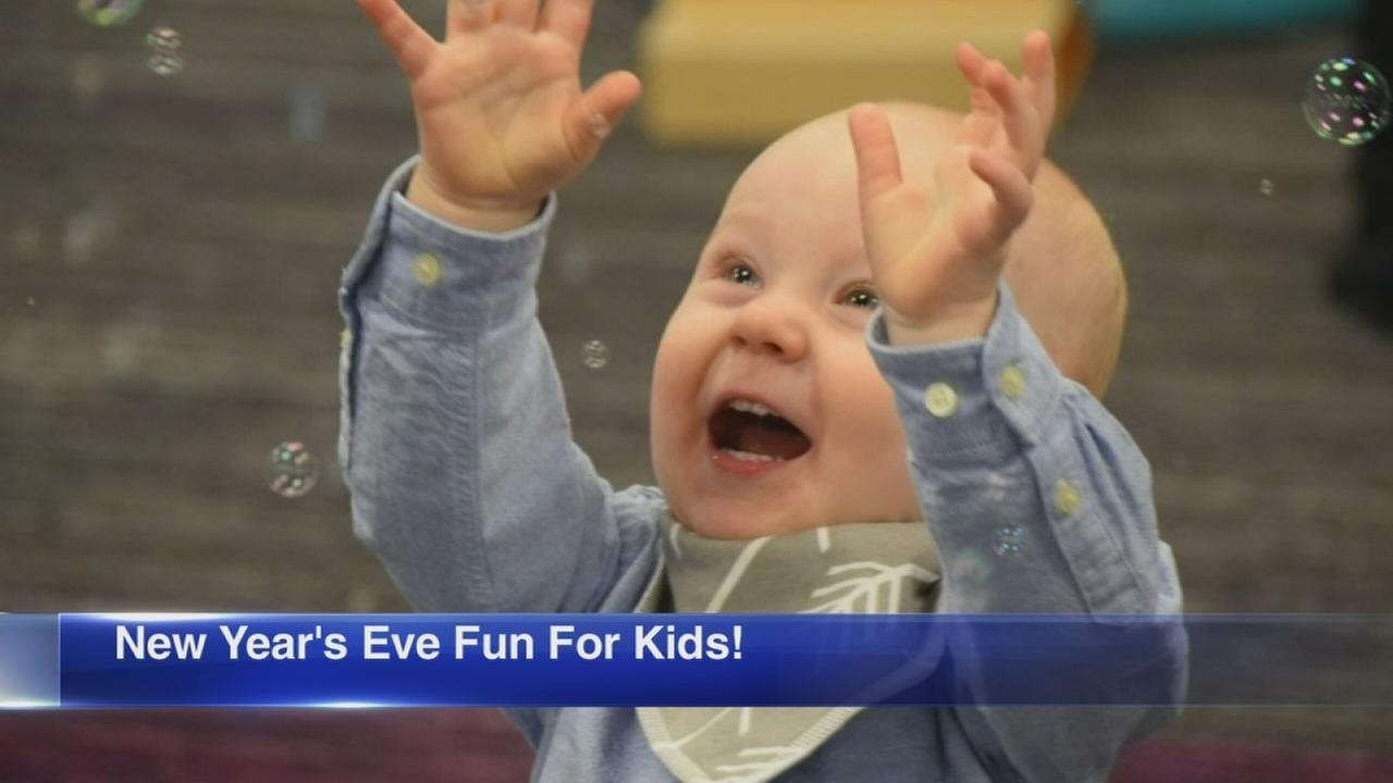 Family-friendly New Years Eve events