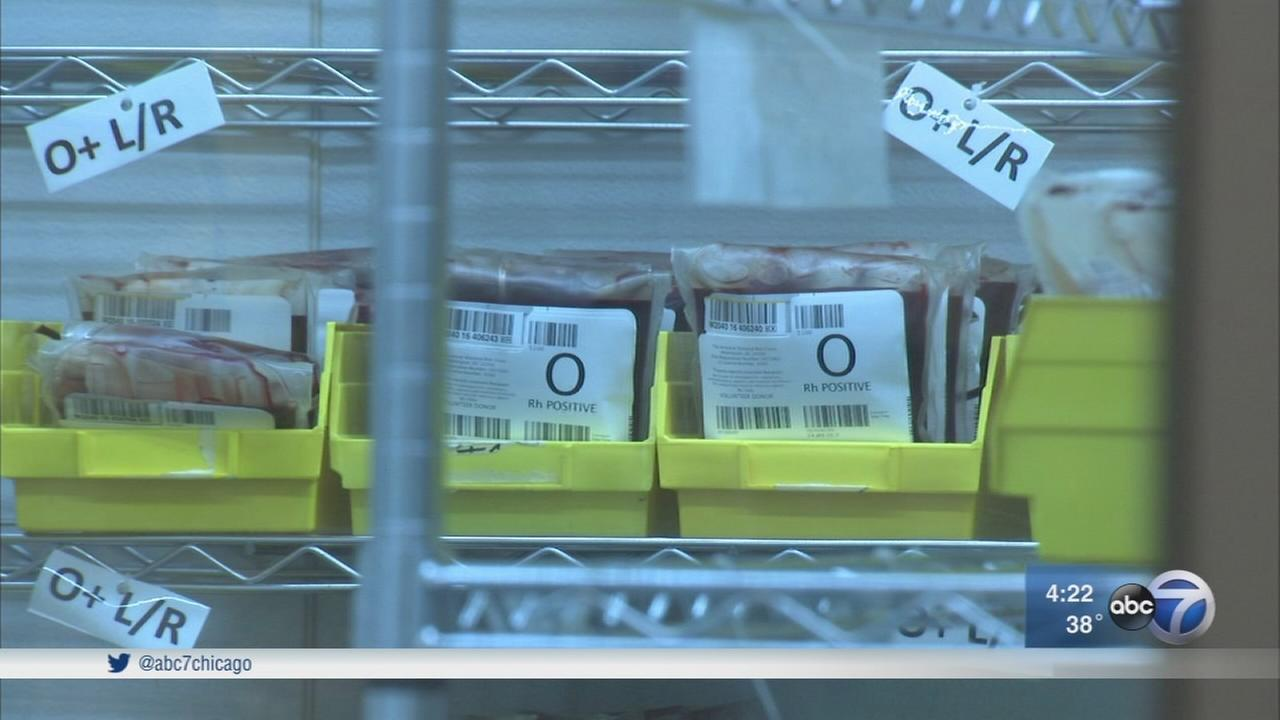 Red Cross blood bank manages donations