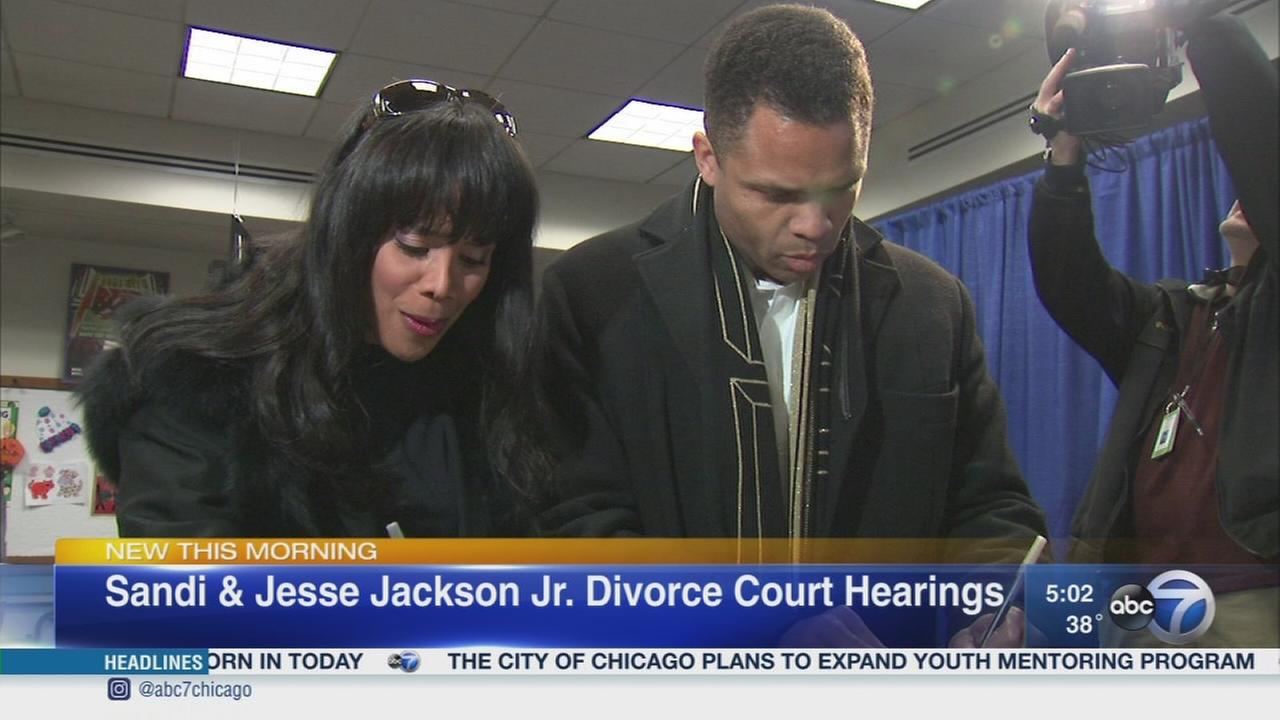 Jacksons take divorce to Washington