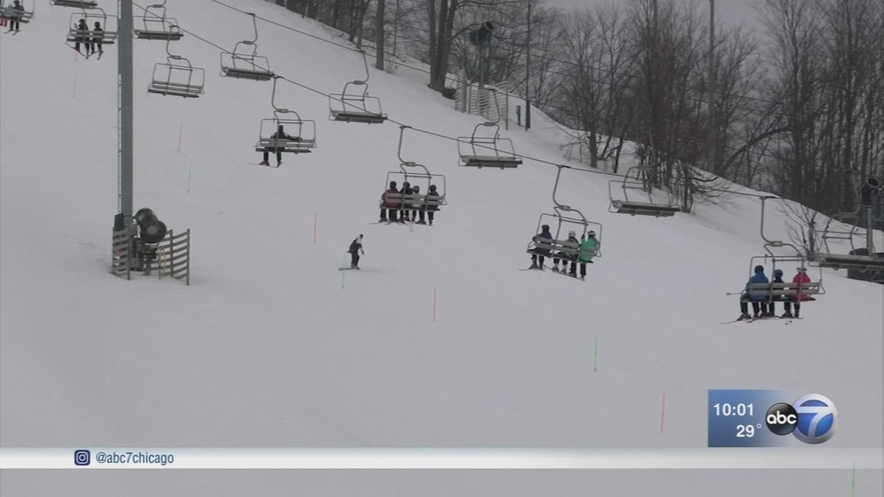 Illinois girl, 10, dies in skiing accident in Michigan