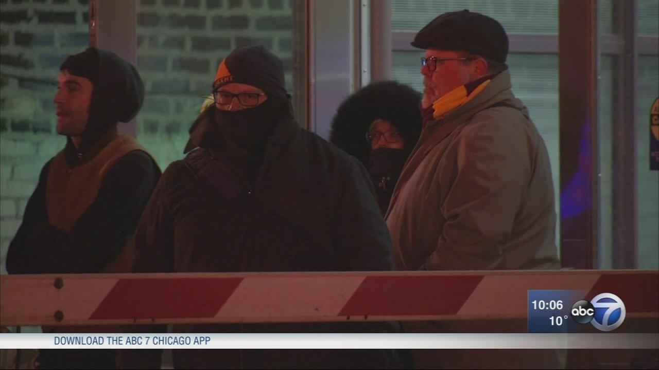 Chicago copes with sub-zero wind chills