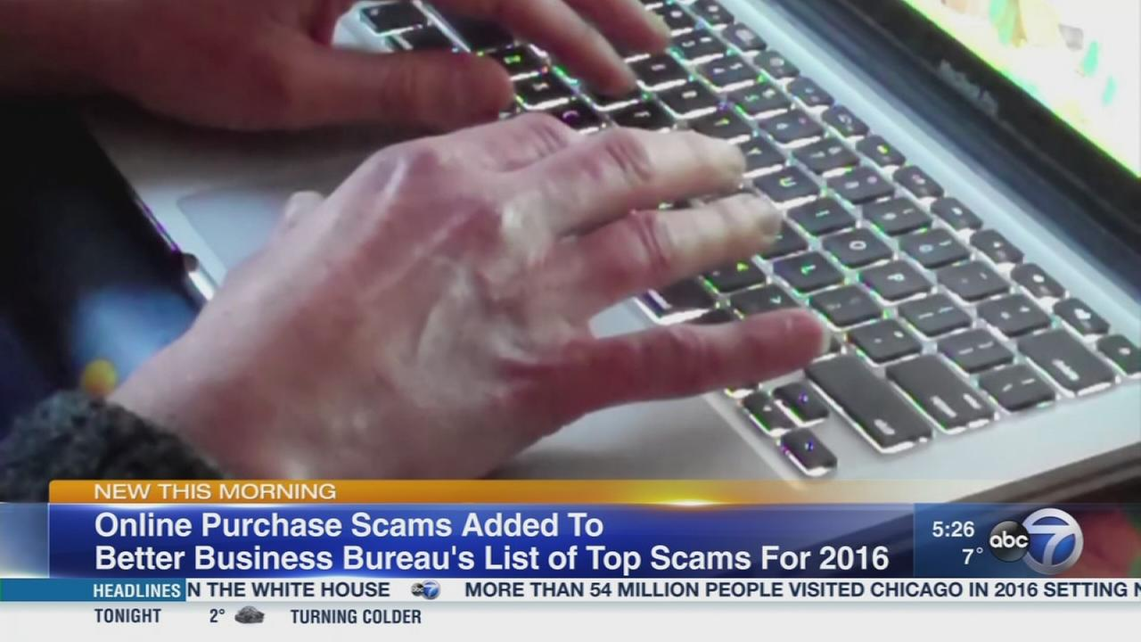 BBB names top scams of 2016