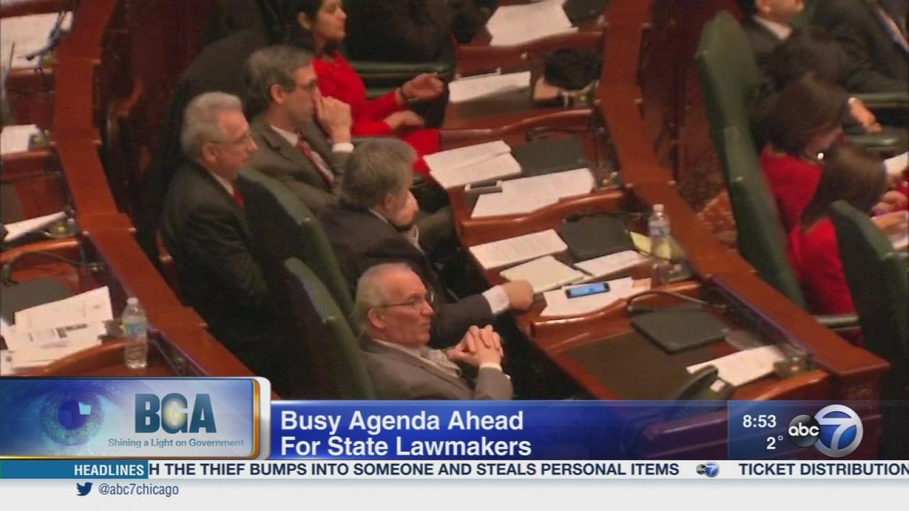 Weekend Watch: Springfield budget crisis, election of House Speaker
