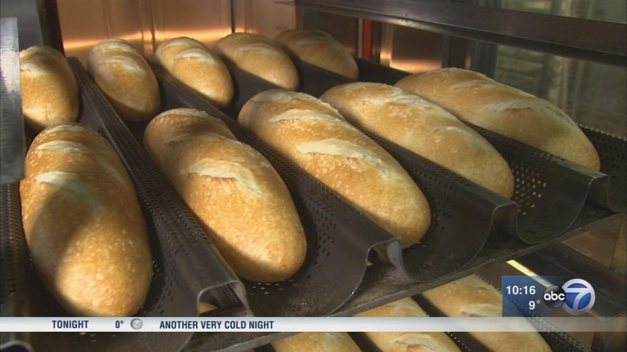 Edgewater banh mi shop bakes their bread fresh daily