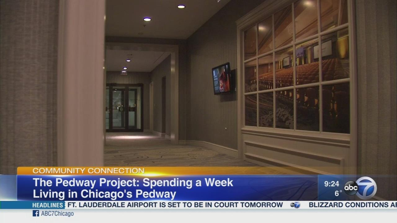Week-long stay in the Chicago Pedway