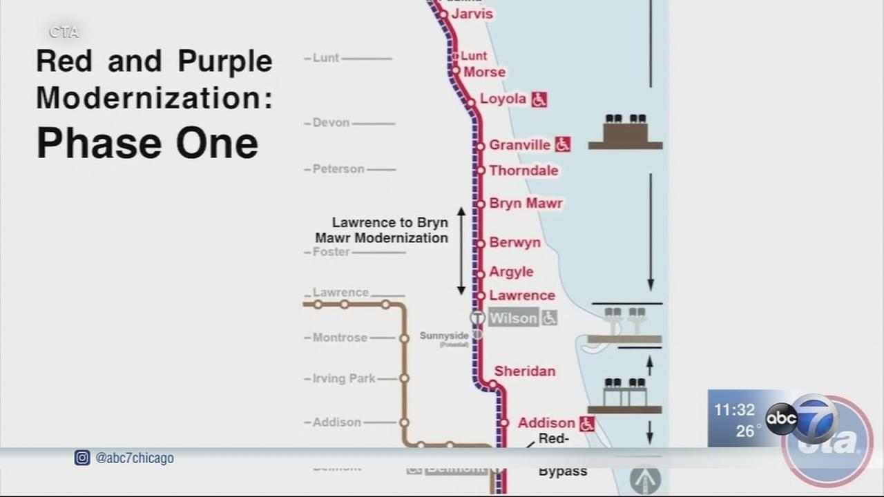 CTA gets $1.1 billion grant for Red/Purple Line project