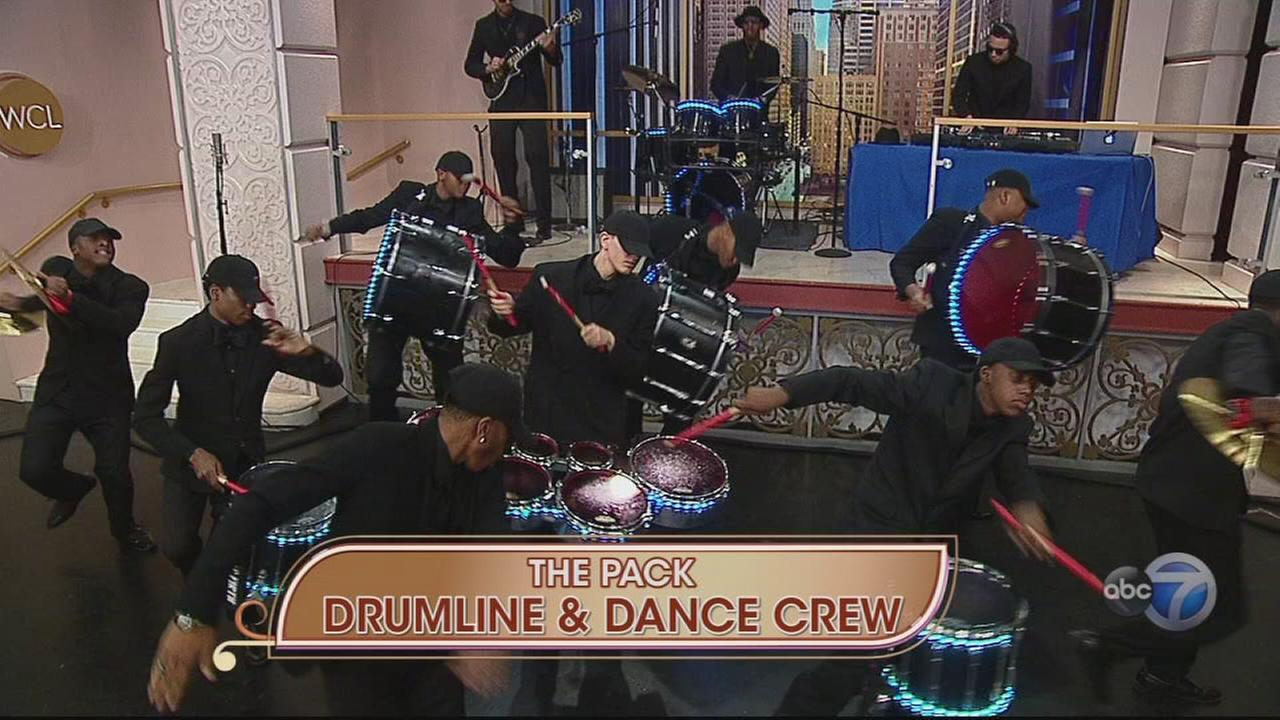 The Pack Drumline and Dance Crew on WCL