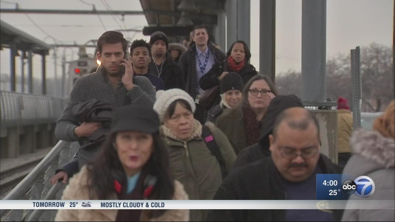 South Shore Line service remains suspended