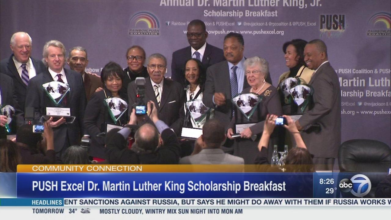 PUSH Excel Scholarship Breakfast in honor of MLK