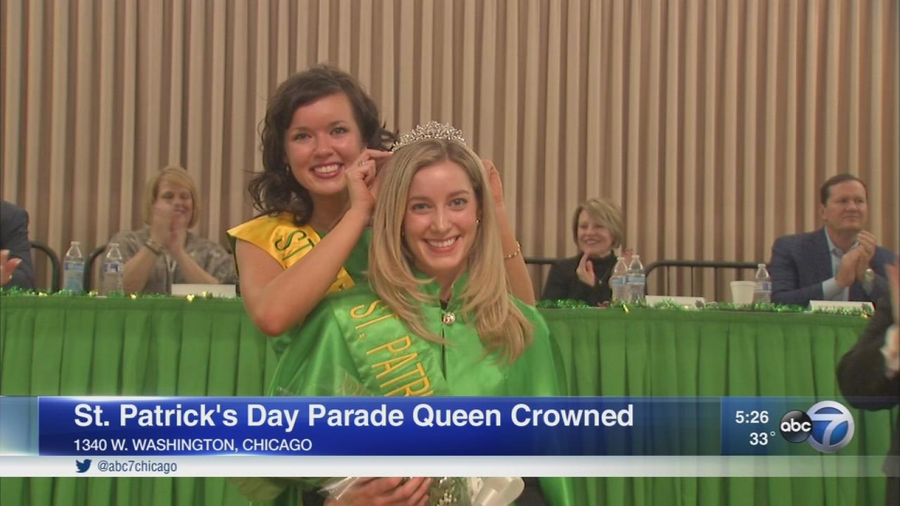Chicago St. Patricks Day Parade queen crowned