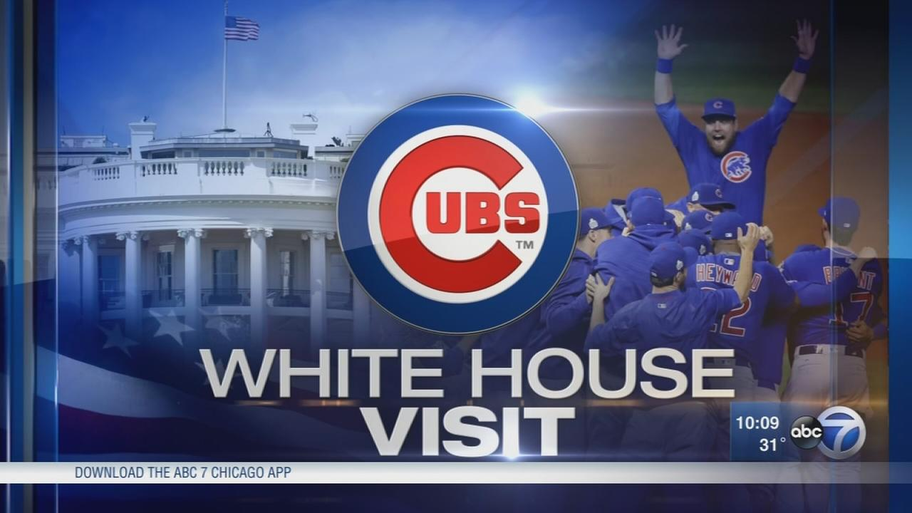 Cubs to visit White House on Monday