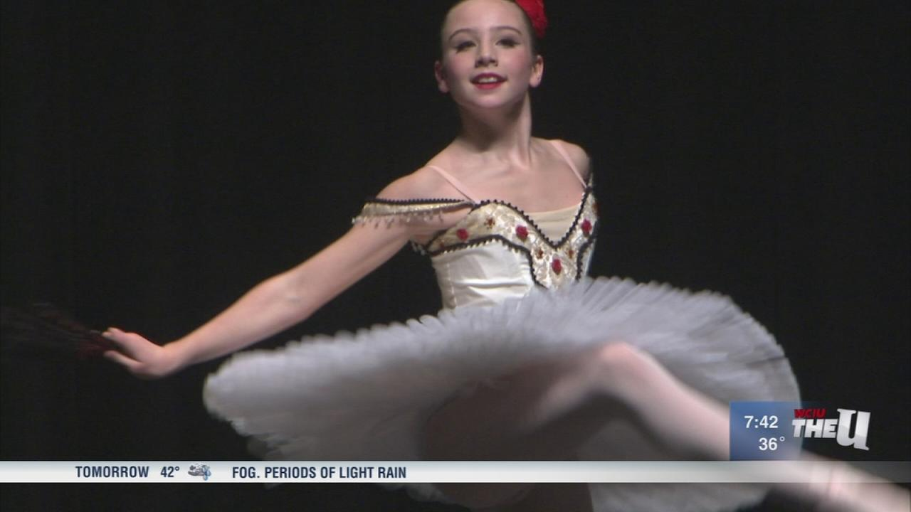 Young ballerinas compete for scholarships