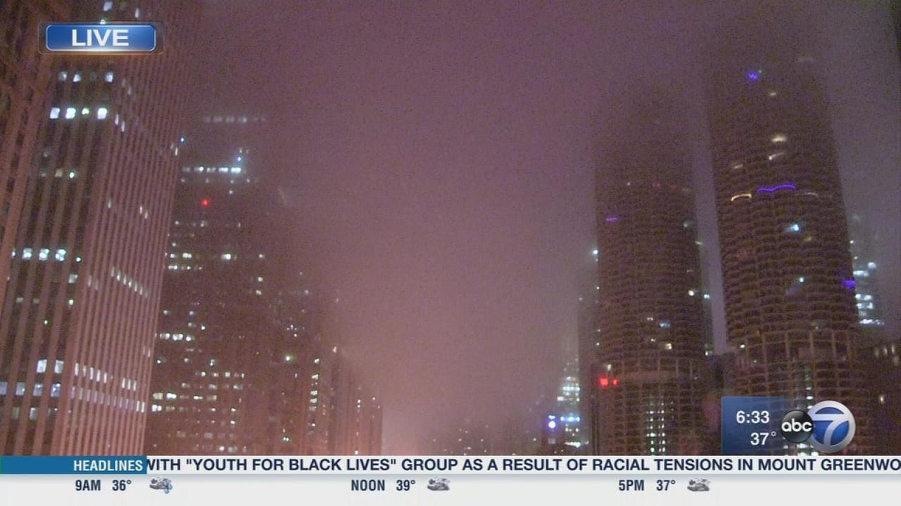 Dense Fog Advisory in effect