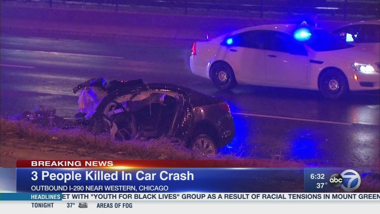 3 killed in Eisenhower crash