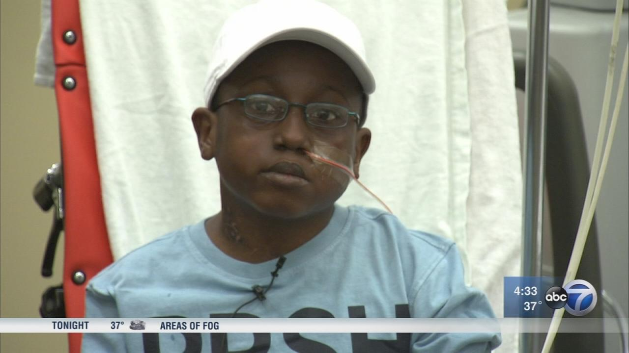 Boy, 11, gets artificial heart