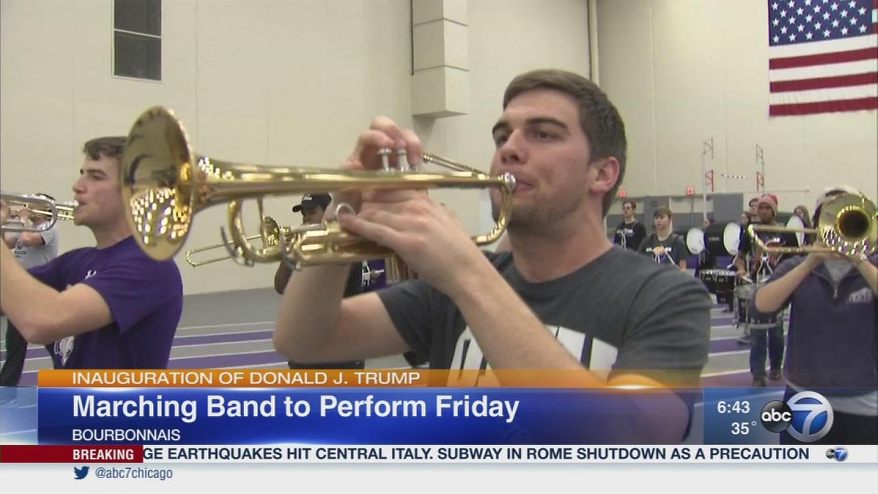 Olivet band to play inauguration
