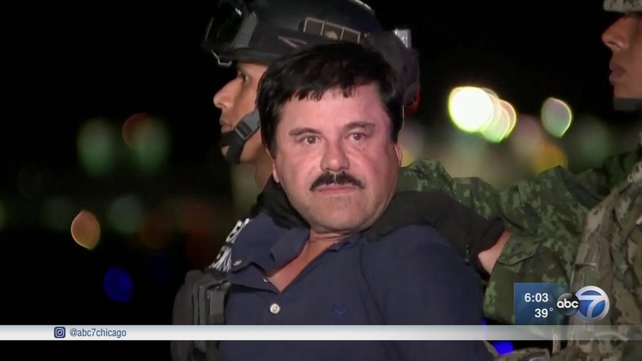 El Chapo extradited to United States, Mexican official says