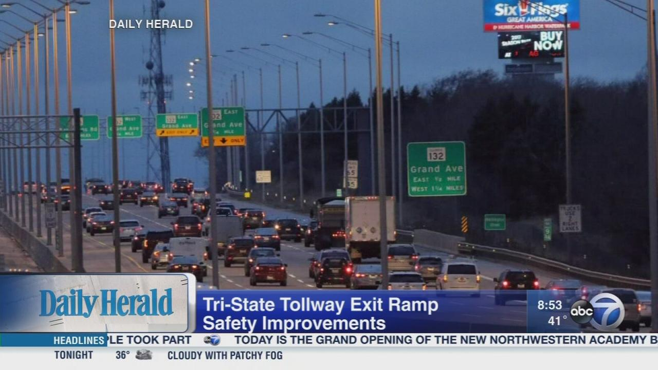 Daily Herald: Improving safety on Tri-State Tollway exits