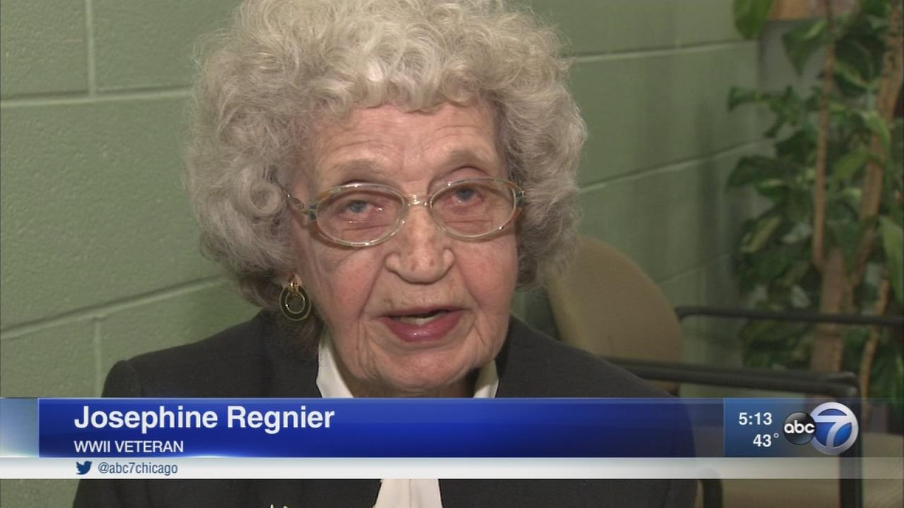 94-year-old WWII veteran honored after attack outside her Chicago home