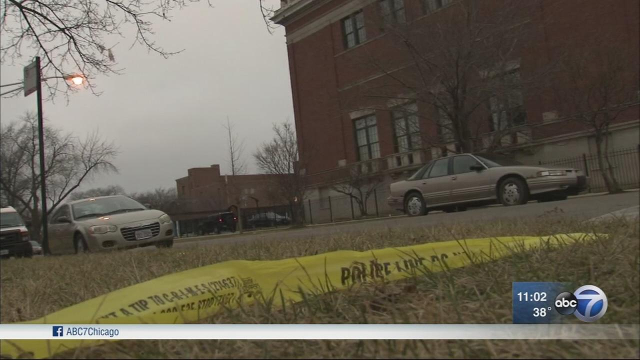Woman shot to death near West Side school