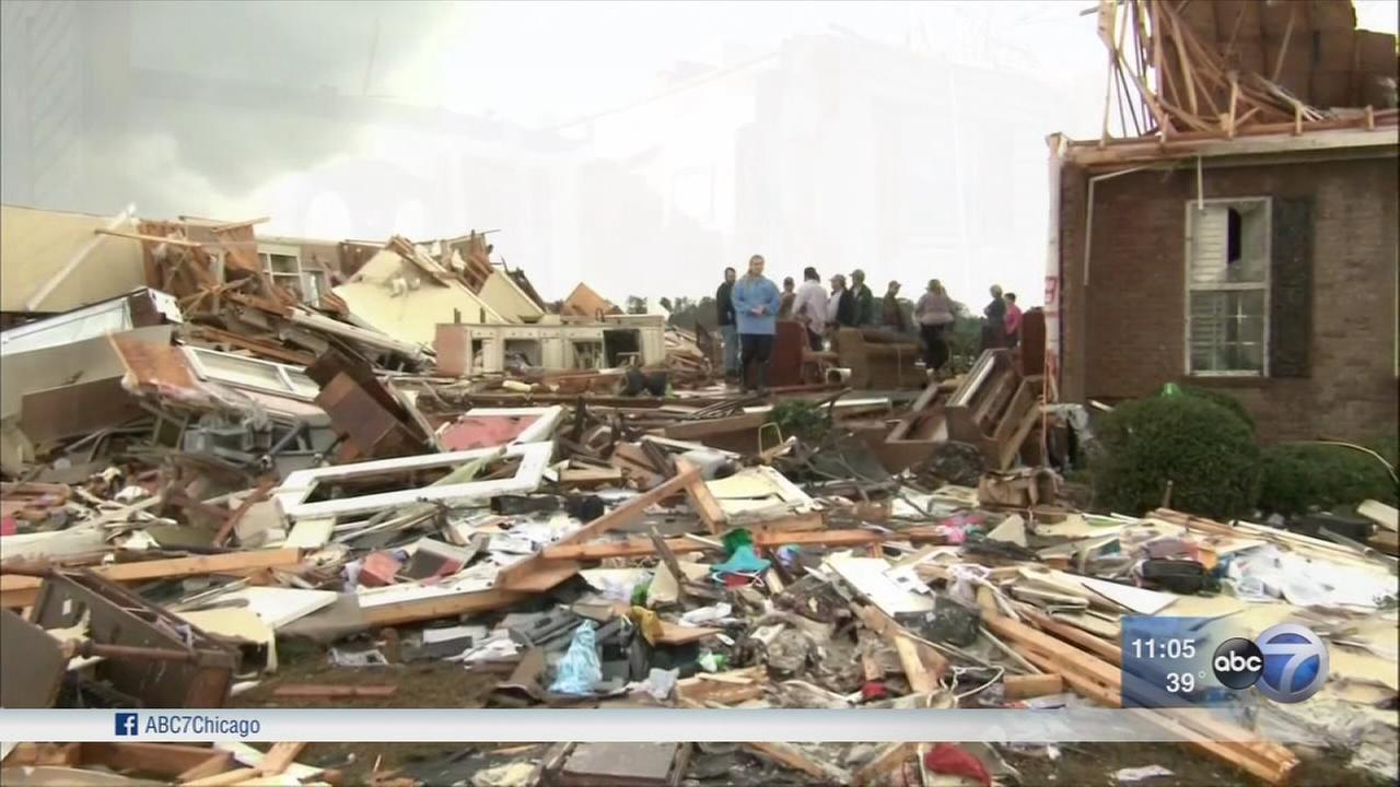 Tornadoes leave 19 dead