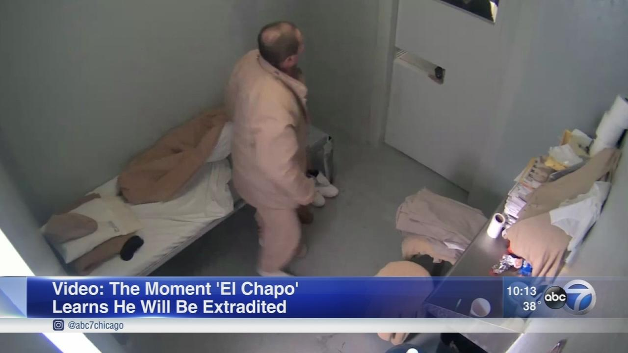 Video shows El Chapos extradition