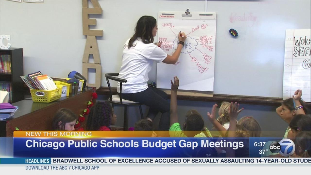 CPS holds budget gap meetings