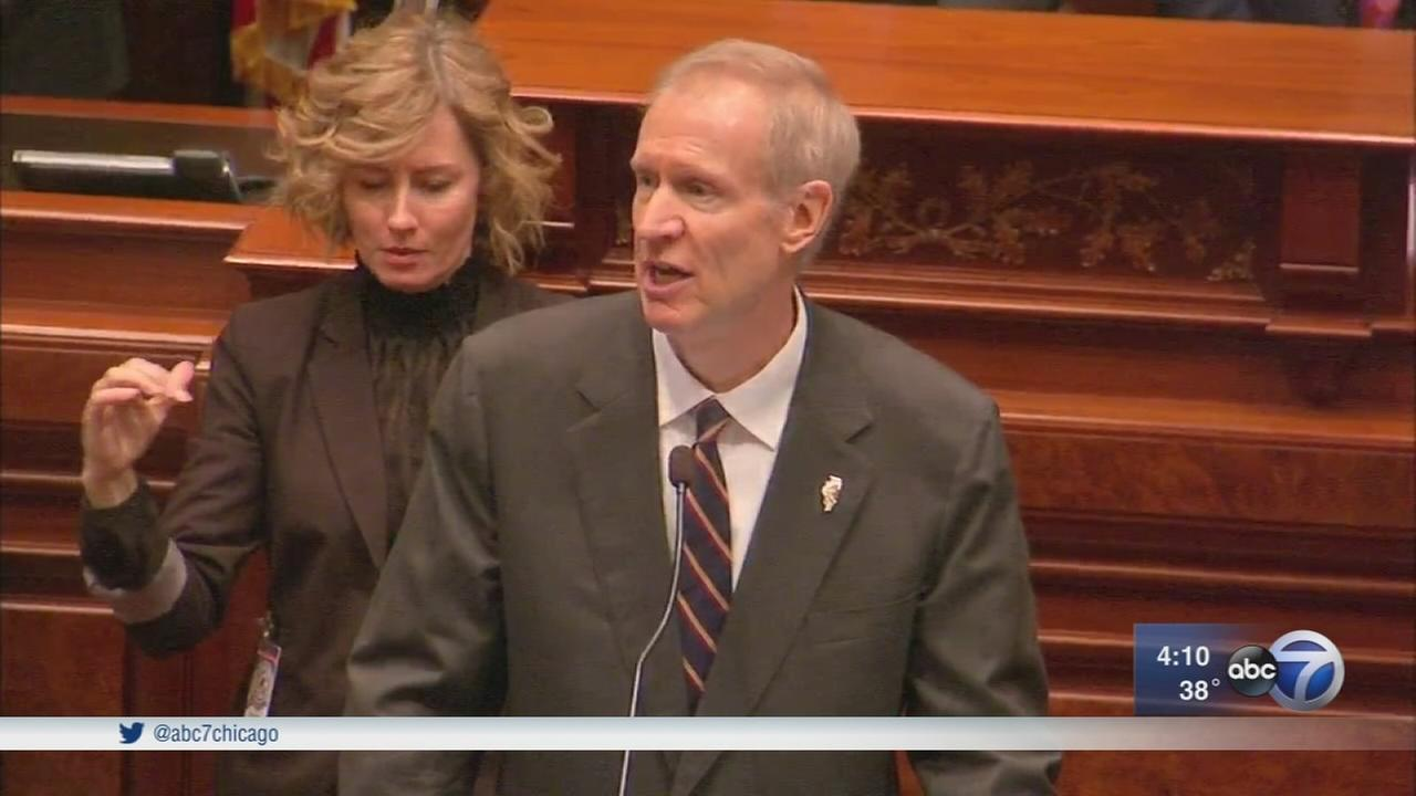 Rauner calls on lawmakers to fix Illinois budget